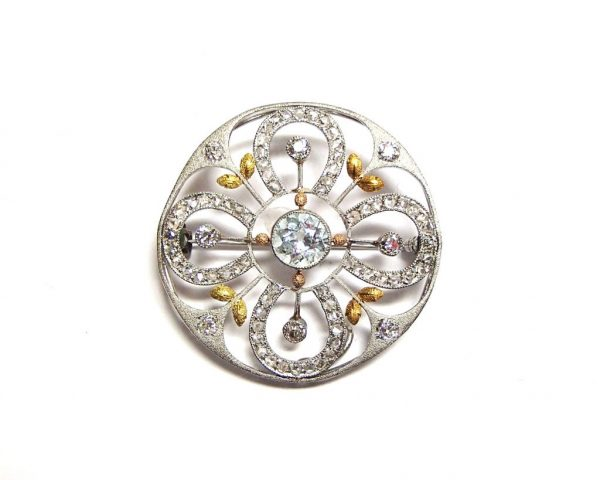 Vintage diamond broach