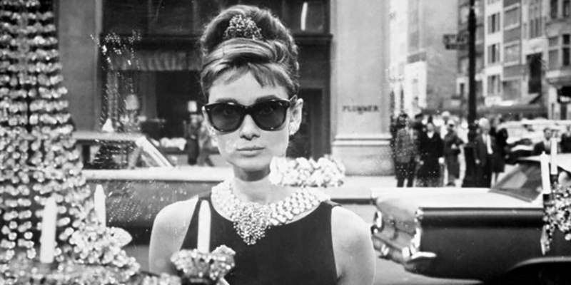 Audrey Hepburn wearing jewellery