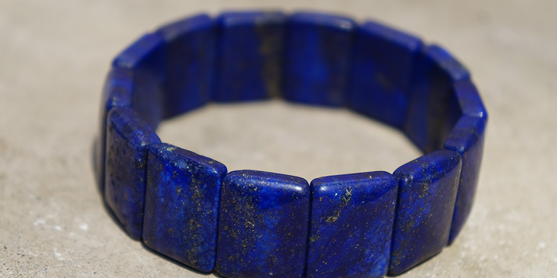 The alternative birthstone for September is lapis lazuli